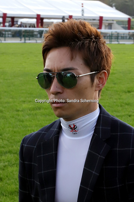 October 06, 2019, Paris (France) - Jockey Yuga Kawada in Portrait on October 06 at ParisLongchamp Race Course  [Copyright (c) Sandra Scherning/Eclipse Sportswire)]