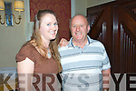 Devon Inn Ceili, Sunday 06-10-2013. Pictured from left to right : Joanne Riordan of Clare and Martin Frawley of Ennis.