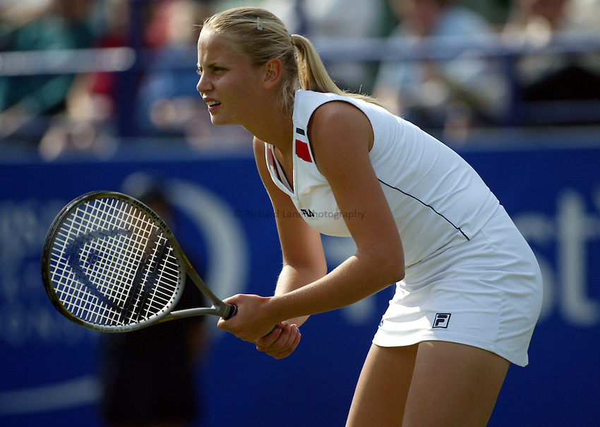 Photograph: Scott Heavey..Hastings Direct Womens Tennis.  Eastbourne. 17/06/2003..Jelena Dokic