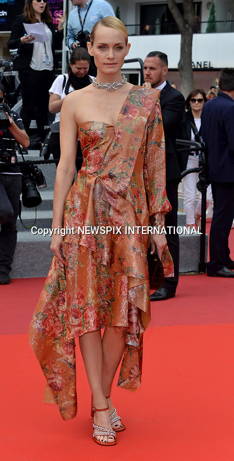 18.05.2017; Cannes, France: AMBER VALETTA<br /> attends the premiere of &ldquo;Wonderstruck&rdquo; at the 70th Cannes Film Festival, Cannes<br /> Mandatory Credit Photo: &copy;NEWSPIX INTERNATIONAL<br /> <br /> IMMEDIATE CONFIRMATION OF USAGE REQUIRED:<br /> Newspix International, 31 Chinnery Hill, Bishop's Stortford, ENGLAND CM23 3PS<br /> Tel:+441279 324672  ; Fax: +441279656877<br /> Mobile:  07775681153<br /> e-mail: info@newspixinternational.co.uk<br /> Usage Implies Acceptance of Our Terms &amp; Conditions<br /> Please refer to usage terms. All Fees Payable To Newspix International