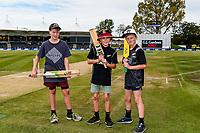 Fans during Day 4 of the Second International Cricket Test match, New Zealand V England, Hagley Oval, Christchurch, New Zealand, 2nd April 2018.Copyright photo: John Davidson / www.photosport.nz