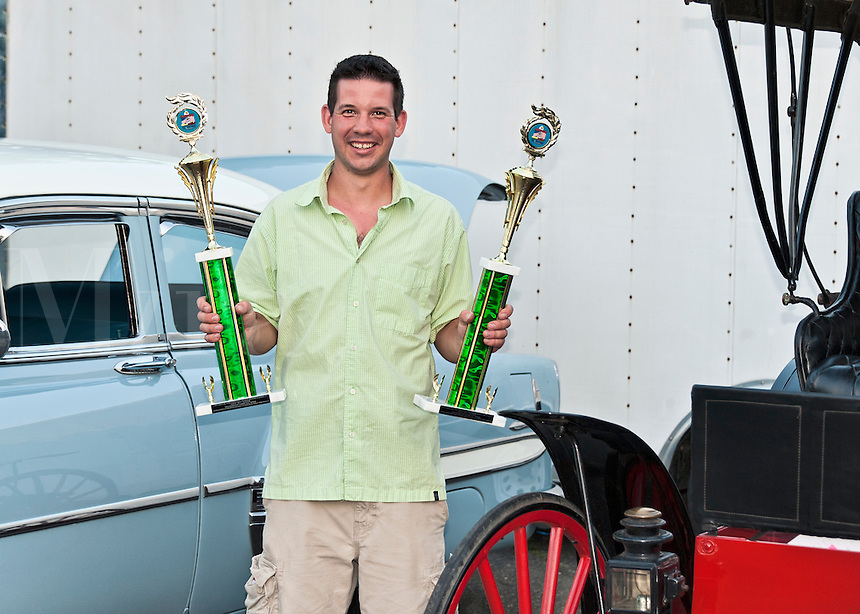 Classic car show winner.