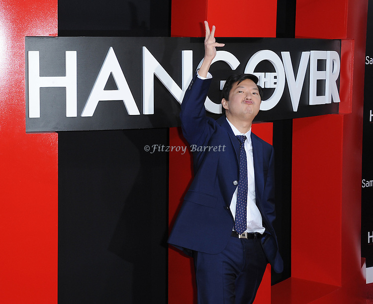 """Ken Jeong at the Los Angeles premiere of """"The Hangover Part 3"""" held at Westwood Village Theater on May 20, 2013."""