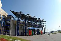 Brest, Belarus. GV's of the venue, Grandstand,  for the  2010. FISA U23 Championships. Friday,  23/07/2010.  [Mandatory Credit Peter Spurrier/ Intersport Images]
