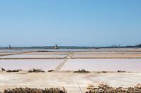 Italy, Italia, Sicilia, Sicily, Marsala, Laguna dello Stagnone, Stagnone lagoon, saline