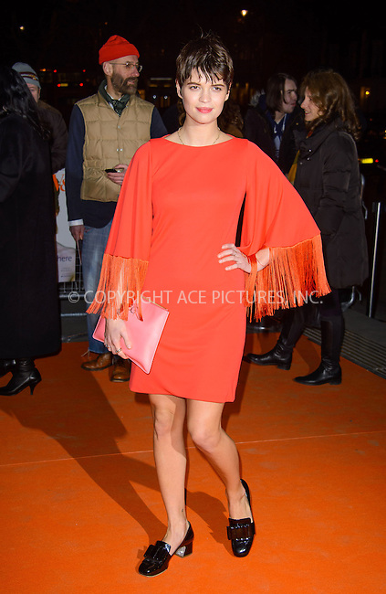 WWW.ACEPIXS.COM....US Sales Only....March 20 2013, London....Pixie Geldof at the 'David Bowie Is' gala night held at the Victoria and Albert Museum (V&A) on March 20 2013 in London....By Line: Famous/ACE Pictures......ACE Pictures, Inc...tel: 646 769 0430..Email: info@acepixs.com..www.acepixs.com