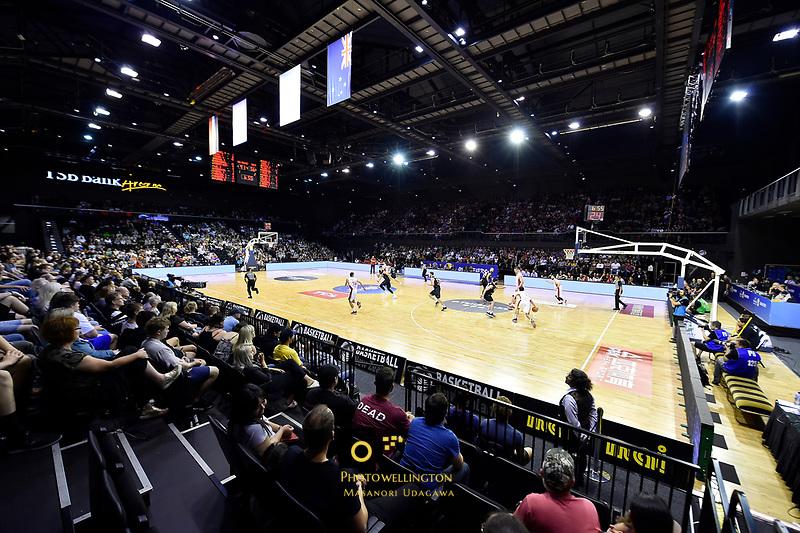FIBA World Cup Basketball Qualifier - NZ Tall Blacks v Syria at TSB Bank Arena, Wellington, New Zealand on Sunday 2 2018. <br /> Photo by Masanori Udagawa. <br /> www.photowellington.photoshelter.com