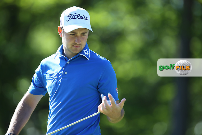 Daniel Brooks (ENG) during Round One of the 2015 BMW PGA Championship over the West Course at Wentworth, Virginia Water, London. 21/05/2015Picture David Lloyd, www.golffile.ie.