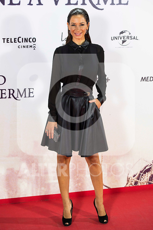 "Cecilia Gomez during the premiere of the spanish film ""Un Monstruo Viene a Verme"" of J.A. Bayona at Teatro Real in Madrid. September 26, 2016. (ALTERPHOTOS/Borja B.Hojas)"