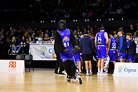 NBL - Cigna Saints v Bay Hawks at TSB Bank Arena, Wellington, New Zealand on Friday 12 April 2019. <br /> Photo by Masanori Udagawa. <br /> www.photowellington.photoshelter.com