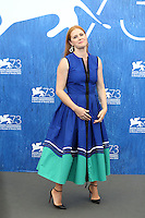 Amy Adams attends a press conference for 'Arrival' during the 73rd Venice Film Festival at Palazzo del Casino on September 1, 2016 in Venice, Italy.<br /> CAP/GOL<br /> &copy;GOL/Capital Pictures /MediaPunch ***NORTH AND SOUTH AMERICAS ONLY***