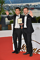 Charles Williams &amp; Wei Shujun at the photocall for &quot;Award Winners&quot; at the 71st Festival de Cannes, Cannes, France 19 May 2018<br /> Picture: Paul Smith/Featureflash/SilverHub 0208 004 5359 sales@silverhubmedia.com