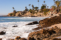 United States, California, Laguna Beach. Laguna Beach is a seaside resort city and artist community located in southern Orange County.