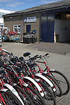 Re-cycle bikes to Africa charity, Colchester, Essex, England
