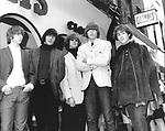 BYRDS  1965 Chris Hillman, Gene Clark, Roger McGuinn, Michael Clarke, David Crosby..© Chris Walter..