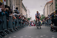 John Degenkolb (DEU/Trek-Segafredo) at the Team presentation in La Roche-sur-Yon<br /> <br /> Le Grand D&eacute;part 2018<br /> 105th Tour de France 2018<br /> &copy;kramon