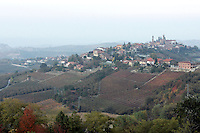 Vigneti nelle Langhe.<br /> Vineyards of the Langhe, Piedmont, Northern Italy.<br /> UPDATE IMAGES PRESS/Riccardo De Luca