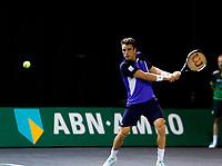 Rotterdam, The Netherlands, 12 Februari 2020, ABNAMRO World Tennis Tournament, Ahoy, Roberto Bautista Agut (ESP).<br /> Photo: www.tennisimages.com