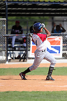 Bryan Herrera participates in the Dominican Prospect League 2014 Louisville Slugger Tournament at the New York Yankees academy in Boca Chica, Dominican Republic on January 20-21, 2014 (Bill Mitchell)