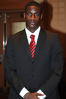 D.C. United goalkeeper Bill Hamid,at the United Kickoff luncheon, at the Marriott hotel in Washington DC, March 5, 2012.