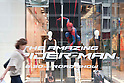 "June 12th, 2012 : Tokyo, Japan - Uniqlo in Ginza is decorated with ""The Amazing Spider-Man"". This movie is a fourth movie of the Spider-Man film series and will be released from June 30th in Japan. (Photo by Yumeto Yamazaki/AFLO)"