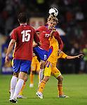 FUDBAL, BEOGRAD, 10.10.2009. -   Fudbaler Srbije Milos Krasic (17). Fudbalska reprezentacija Srbije u pretposlednjem kolu kvalifikacija za Svetsko prvenstvo 2010. godine u Juznoj Africi pobedila je Rumuniju rezultatom 5:0. Foto: Nenad Negovanovic - Sportska centrala