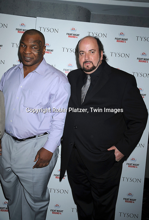 Mike Tyson and James Toback