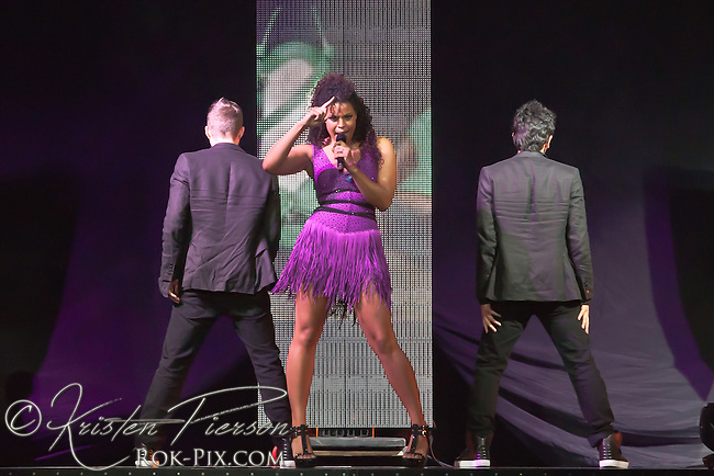 Jordin Sparks performing at Mohegan Sun Arena on June 3, 2011