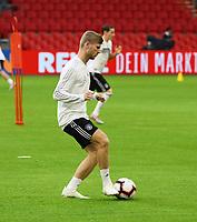 Timo Werner (Deutschland Germany) - 12.10.2018: Abschlusstraining der Deutschen Nationalmannschaft vor dem UEFA Nations League Spiel gegen die Niederlande