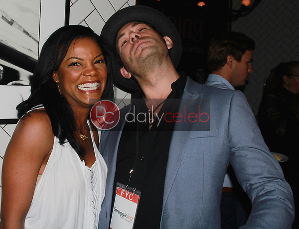 "Nadège August, Brent Harvey<br /> at the ""Struggleing"" For Your Consideration event hosted by A. Whole Productions and Brent Harvey Films, Crossroads Kitchen, Los Angeles, CA 06-06-18<br /> David Edwards/DailyCeleb.com 818-249-4998"
