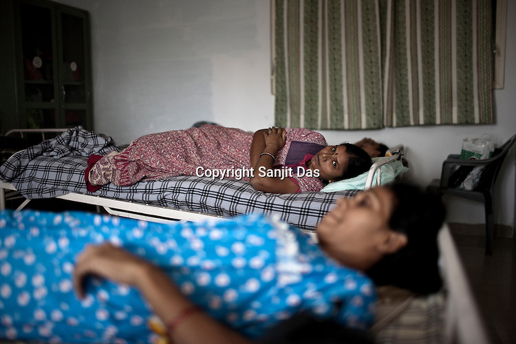 Surrogate mothers at the Akanksha Infertility and IVF Clinic in Anand, Gujarat, India. The centre has become the most popular clinic for outsourcing pregnancies by western couples.
