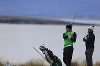 Barry Anderson (The Royal Dublin) during the first round of matchplay at the 2018 West of Ireland, in Co Sligo Golf Club, Rosses Point, Sligo, Co Sligo, Ireland. 01/04/2018.<br /> Picture: Golffile | Fran Caffrey<br /> <br /> <br /> All photo usage must carry mandatory copyright credit (&copy; Golffile | Fran Caffrey)