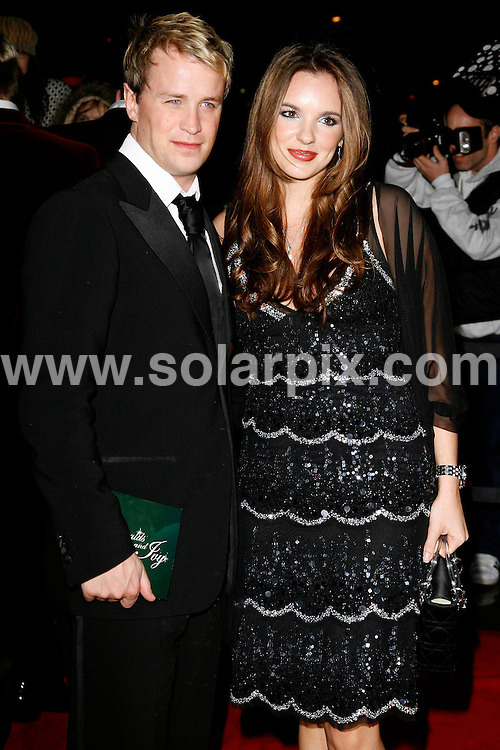 """ALL ROUND PICTURES FROM SOLARPIX.COM.WORLDWIDE SYNDICATION RIGHTS.Kian Egan and Jodi Albert arrives for the inaugural """"Emeralds and Ivy Ball"""" for Cancer Research UK at the Roundhouse, Camden...DATE:01/12/2006-JOB REF:3130-PRS.**MUST CREDIT SOLARPIX.COM OR DOUBLE FEE WILL BE CHARGED**"""