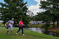Jon Rahm (ESP) heads down 12 during round 4 of the WGC FedEx St. Jude Invitational, TPC Southwind, Memphis, Tennessee, USA. 7/28/2019.<br /> Picture Ken Murray / Golffile.ie<br /> <br /> All photo usage must carry mandatory copyright credit (© Golffile | Ken Murray)