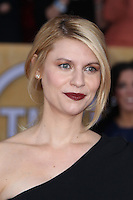 LOS ANGELES, CA - JANUARY 27: Claire Danes at The 19th Annual Screen Actors Guild Awards at the Los Angeles Shrine Exposition Center in Los Angeles, California. January 27, 2013. Credit: MediaPunch Inc.