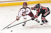 Haley Skarupa (BC - 22), Colleen Murphy (NU - 10) - The Boston College Eagles defeated the Northeastern University Huskies 3-0 on Tuesday, February 11, 2014, to win the 2014 Beanpot championship at Kelley Rink in Conte Forum in Chestnut Hill, Massachusetts.