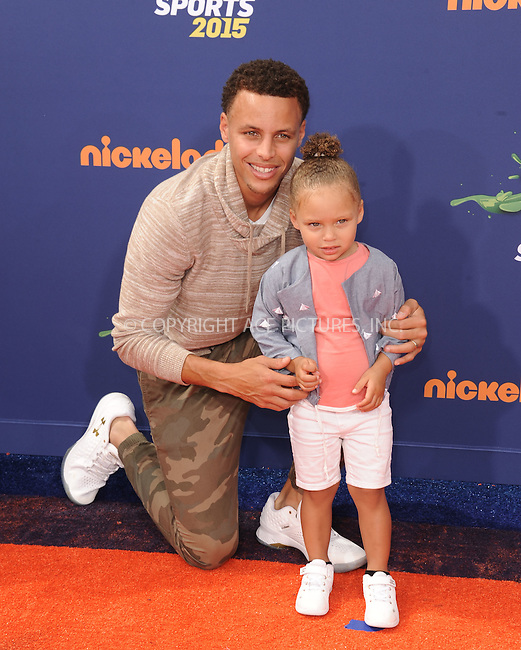 WWW.ACEPIXS.COM<br /> <br /> July 16 2015, LA<br /> <br /> Stephen Curry arriving at the Nickelodeon Kids' Choice Sports Awards 2015 at UCLA's Pauley Pavilion on July 16, 2015 in Westwood, California.<br /> <br /> By Line: Peter West/ACE Pictures<br /> <br /> <br /> ACE Pictures, Inc.<br /> tel: 646 769 0430<br /> Email: info@acepixs.com<br /> www.acepixs.com