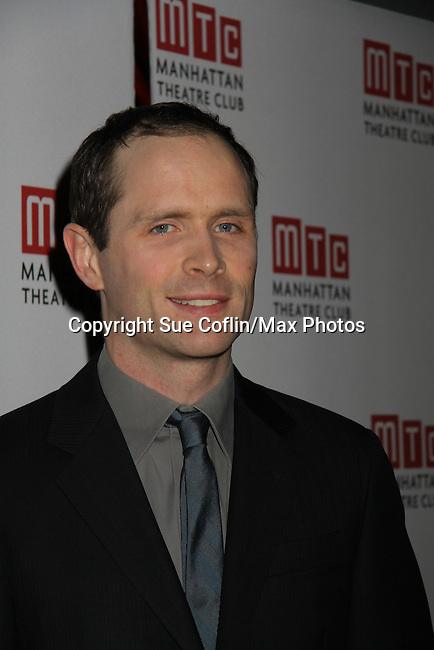 Patrick Carroll - Opening Night of Broadway's Good People on March 3, 2011 at the Samuel J. Friedman Theatre, New York City, New York with the after party was at B.B. Kings, NYC. (Photo by Sue Coflin/Max Photos)
