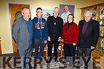 Bishop of Kerry, Bishop Ray Browne attending St. John's Parish Centre on Tuesday night for an Evening of Celebration for those who have worked in the missions. <br /> L to r: Fr Tadgh Fitzgerald, Paddy Daly, Bishop Ray Browne, Sr Una Harmon and Sean Tucker.