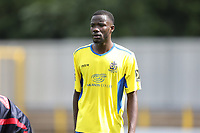 Soloman Nwaboukei of St Albans during St Albans City vs Stevenage, Friendly Match Football at Clarence Park on 13th July 2019