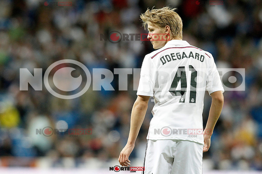 Real Madrid's Odegaard during La Liga match. May 23,2015. (ALTERPHOTOS/Acero) /NortePhoto.com