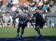 Washington, DC - February 27, 2018: Georgetown Hoyas Jack Kelly (26) in action during game between Mount St. Mary's and Georgetown at  Cooper Field in Washington, DC.   (Photo by Elliott Brown/Media Images International)