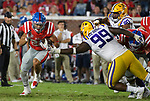 Ole Miss football vs. LSU at Vaught-Hemingway Stadium in Oxford, Miss., Saturday, Oct. 21, 2017. Photo by Thomas Graning/Ole Miss Communications