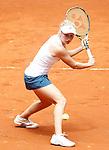 Daria Gavrilova, Australia, during Madrid Open Tennis 2016 match.May, 5, 2016.(ALTERPHOTOS/Acero)