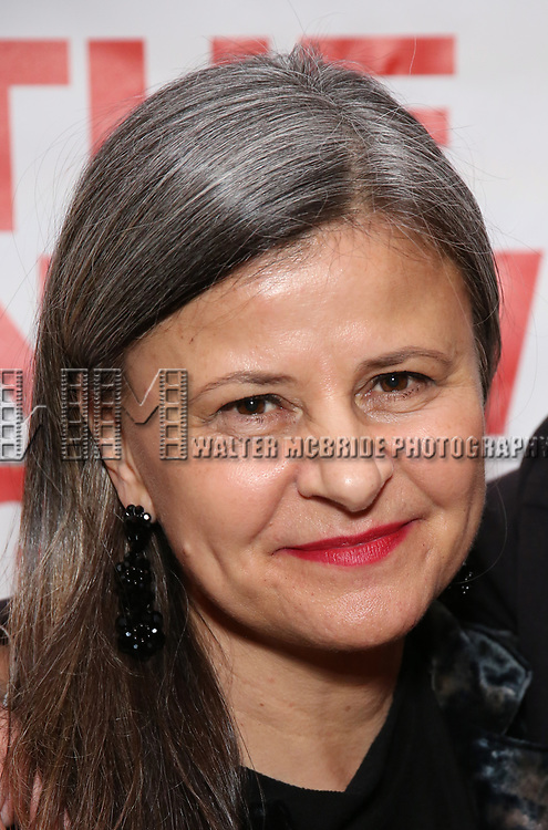 """Tracey Ullman attends the Off-Broadway Opening Night Premiere of  """"Jerry Springer-The Opera"""" on February 22, 2018 at the Roundabout Rehearsal Studios in New York City."""