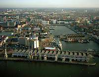 December 1998. Eilandje in Antwerpen.