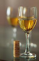 Europe/France/Aquitaine/33/Gironde/Sauternais/Sauternes: Chateau d'Yquem - Dégustation d'un vin de 1991