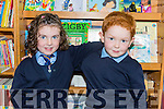 Evie Guerin and Eoghan O'Donoghue making best friends at Glenflesk NS