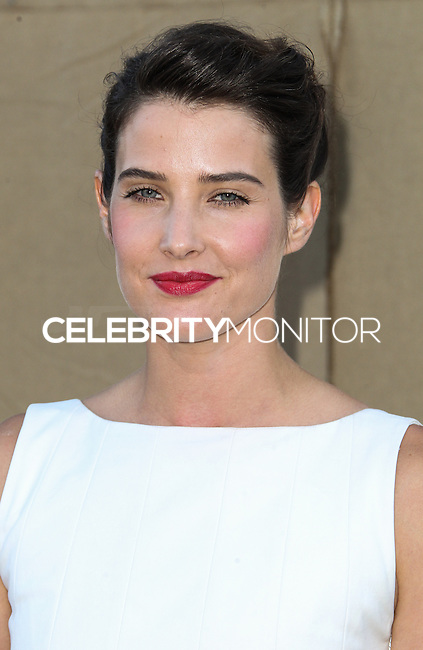 BEVERLY HILLS, CA - JULY 29: Cobie Smulders attends the CBS, Showtime, CW 2013 TCA Summer Stars Party at 9900 Wilshire Blvd on July 29, 2013 in Beverly Hills, California. (Photo by Celebrity Monitor)