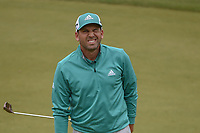 Sergio Garcia (ESP) reacts to barely missing his birdie putt on 11 during day 4 of the WGC Dell Match Play, at the Austin Country Club, Austin, Texas, USA. 3/30/2019.<br /> Picture: Golffile | Ken Murray<br /> <br /> <br /> All photo usage must carry mandatory copyright credit (© Golffile | Ken Murray)
